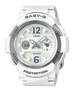 カシオベビーGアナデジクオーツレディース腕時計時計BGA-210-7B4ホワイト【_包装】