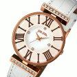 フォリフォリ DYNASTY クオーツ レディース 腕時計 時計 WF1B029SSS-WH ホワイト【楽ギフ_包装】
