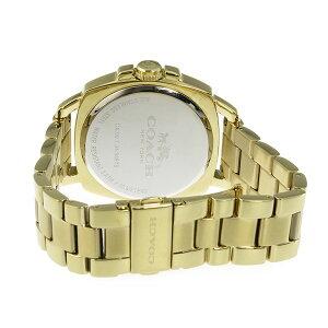 コーチCOACHボーイフレンドBoyfriendクオーツレディース腕時計時計14502080ゴールド【_包装】