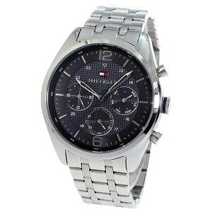トミーヒルフィガーTOMMYHILFIGERクオーツメンズ腕時計時計1791185ブラック【_包装】