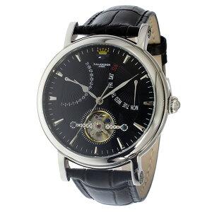 ジョンハリソンJOHNHARRISON自動巻きメンズ腕時計時計JH-040SBブラック【_包装】