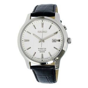 セイコーSEIKOキネティックKINETICキネティッククオーツメンズ腕時計時計SKA743P1ホワイト【_包装】