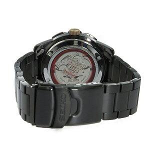 セイコーSEIKOセイコーファイブスポーツ60周年記念モデル自動巻きメンズ腕時計時計SRPA33K1ブラック【_包装】