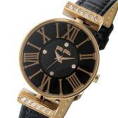 フォリフォリ FOLLI FOLLIE ミニダイナスティ クオーツ レディース 腕時計 時計 WF13B014SSK-BK ブラック【楽ギフ_包装】