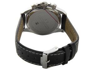 ジャックルマンケビンコスナーアンバサダーモデルクロノメンズ腕時計時計1-1836Aシルバー/ブラック【_包装】