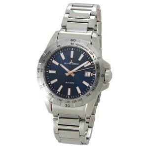 ジャックルマンリバプールLIVERPOOLデイトクオーツメンズ腕時計時計1-1903Cブルー【_包装】