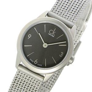 カルバンクラインCalvinKleinミニマルMINIMALクオーツレディース腕時計時計K3M53154グレー【_包装】