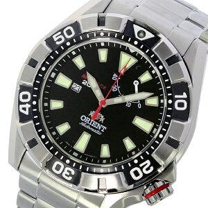 オリエントエムフォース自動巻きメンズ腕時計時計SEL03001B0(WV0011EL)ブラック【_包装】