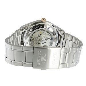 セイコーSEIKOセイコー5自動巻きメンズ腕時計時計SNKN90Jホワイトシルバー【_包装】