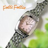 フォリフォリ FOLLI FOLLIE S922メタルベルト クオーツ レディース 腕時計 時計 WF5T080BDP ピンク【楽ギフ_包装】