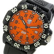 ルミノックス LUMINOX スコット・キャセル スペシャルエディション メンズ 腕時計 時計 3059SET オレンジ【楽ギフ_包装】
