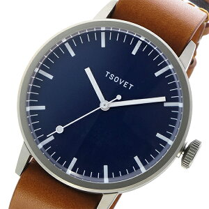 ソベットTSOVETSVT-SC38クオーツユニセックス腕時計時計SC112813-45ネイビー【_包装】