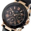 サルバトーレ マーラ クオーツ メンズ 腕時計 時計 SM14118S-PGBK ブラック