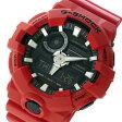カシオ CASIO Gショック G-SHOCK Gショック G-SHOCK クオーツ メンズ 腕時計 時計 GA-700-4A ブラック/レッド【楽ギフ_包装】