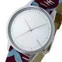 コモノ KOMONO Estelle-Vlisco-Silver クオーツ レディース 腕時計 時計 KOM-W2850 シルバー【楽ギフ_包装】