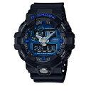 カシオ CASIO Gショック G-SHOCK アナデジコンビ アナデジ クオーツ メンズ クロノ 腕時計 時計 GA-710-1A2 ブルー