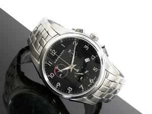 HAMILTONハミルトンジャズマスターシンラインクロノ腕時計H38612153【送料無料】【34%OFF】【セール】【YDKG円高還元ブランド】