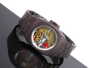 エドハーディーEDHARDY腕時計メンズKS-BRY【送料無料】【36%OFF】【セール】【YDKG円高還元ブランド】