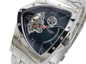 コグCOGU流通限定モデルスケルトン自動巻メンズ腕時計時計BNT-N-BK【67%OFF】【セール】【YDKG円高還元ブランド】【ポイント10倍】【_包装】