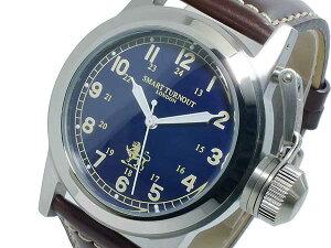 スマートターンアウトSMARTTURNOUTクオーツメンズ腕時計時計ST-003NV替えベルト付き【_包装】