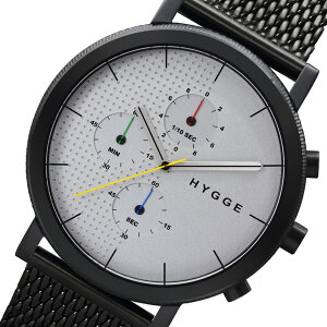 ピーオーエスPOSヒュッゲHYGGEMSM2204BCメンズ腕時計時計HGE020004シルバー【_包装】