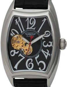 【AUREOLE】オレオールメンズ腕時計SW-580M-1アナログ表示自動巻スケルトン日常生活用防水/5点入り(き)【RCP】