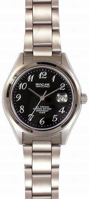 【ROGAR】ローガル メンズ腕時計 RO-047M-BS 10気圧防水(日本製) /10点入り(代引き不可)【S1】:リコメン堂生活館