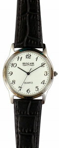 【ROGAR】ローガルメンズ腕時計RO-055MB-S1日常生活用防水(日本製)/10点入り(き)【RCP】