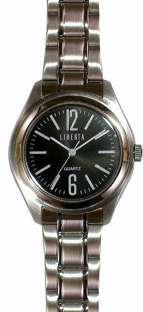 【LIBERTA】リベルタ メンズ腕時計 LI-032M-BS 10気圧防水(日本製) /10点入り(代引き不可)【S1】:リコメン堂生活館