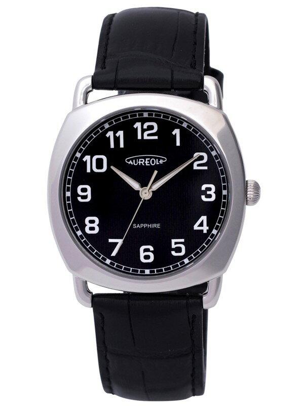 【AUREOLE】オレオール メンズ腕時計 SW-579M-1 アナログ表示 日常生活用防水 /10点入り(代引き不可)【S1】:リコメン堂生活館