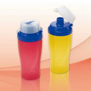 ウェーブ・ドリンクボトルミニ 300ml(日本製) ウェーブ・ドリンクボトルミニ レッド/120点入り(代引き不可)