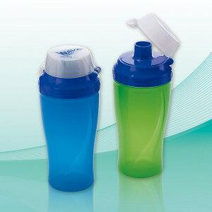 ウェーブ・ドリンクボトル 600ml(日本製) ウェーブ・ドリンクボトル(アソート)・グリーン/30点・ブルー/30点(代引き不可)