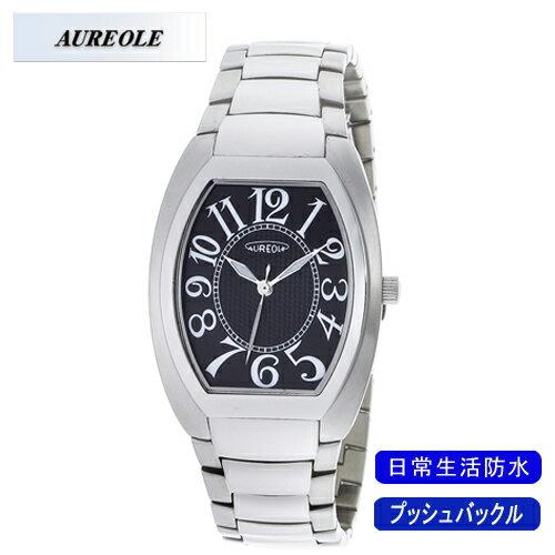 【AUREOLE】オレオール メンズ腕時計 SW-488M-1 アナログ表示 日常生活用防水 /10点入り(代引き不可)【S1】:リコメン堂生活館