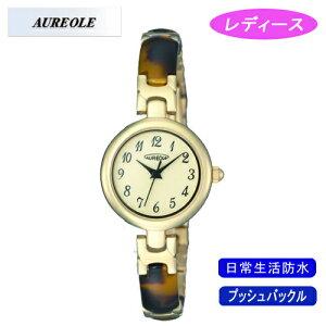 【AUREOLE】オレオールレディース腕時計SW-492L-2アナログ表示日常生活用防水/1点入り(き)【RCP】
