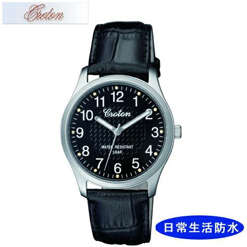 【CROTON】クロトン メンズ腕時計 RT-157M-1 アナログ表示 日常生活用防水 /10点入り(代引き不可)【S1】:リコメン堂生活館