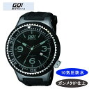 【GQI GENEVA】 ジェネバ メンズ腕時計 GQ-106 アナログ表示 10気圧防水 /10点入り(代引き不可)【送料無料】