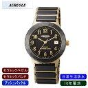 【AUREOLE】オレオール メンズ腕時計 SW-481M-1 アナログ表示 セラミック 10年電池 日常生活用防水 /1点入り(代引き不可)【送料無料】