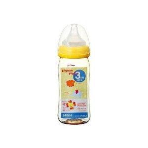 母乳実感 プラスチック製 240ml [アニマル柄]