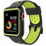 ROOX ルークス Apple Watch Series4&5 44mm用 インテグラル・スポーツ イエロー JGWSPSW5L-YW バンド ケース セット