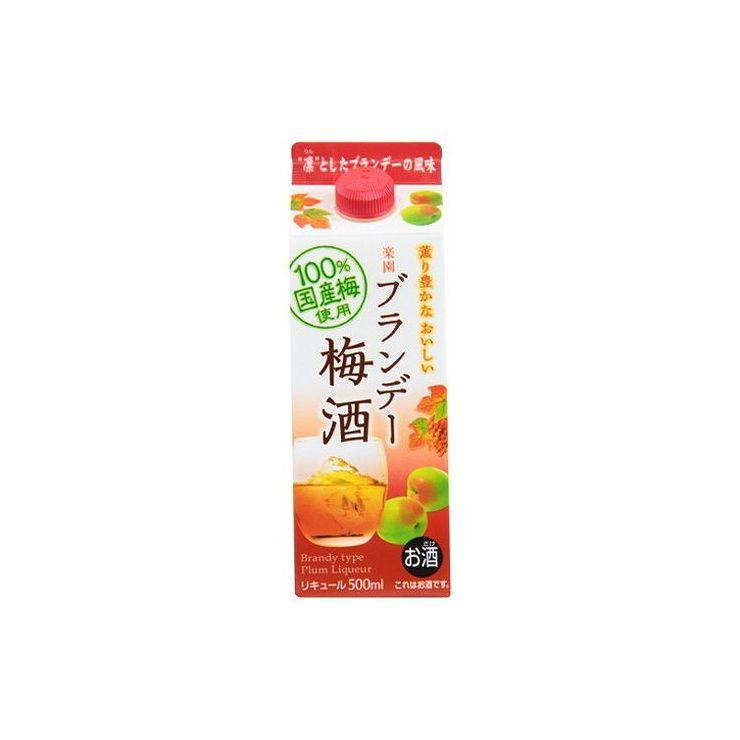 清洲桜醸造『楽園 ブランデー梅酒パック』