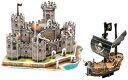 【送料無料】3Dパズルお城&海賊船3Dパズルお城&海賊船【送料無料】【smtb-F】【RCP】