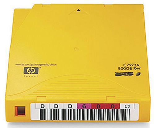 HP LTO3 Ultrium 800GB 20巻パック(バーコードラベル付き) 日本HP C7973AN(代引き不可)