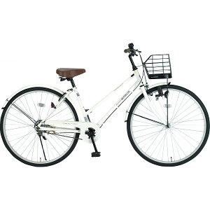 マイパラス26型シティサイクルホワイトMー512W