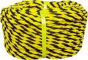 ユタカ ロープ 標識ロープ巻物 9φ×100m【Y9-100】(ロープ・ひ...