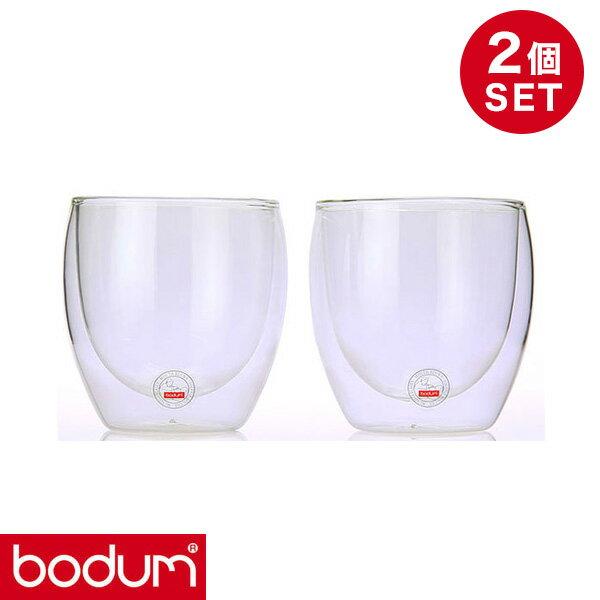 bodumボダムダブルウォールグラス0.08L2個セットPAVINA4557-10US【送料無料】