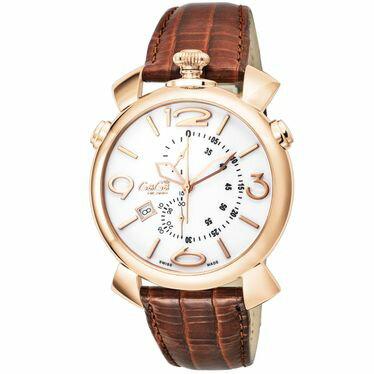 GAGA ガガ ミラノ THIN CHRONO 46MM 5098.01BW 腕時計 メンズ【S1】:リコメン堂生活館
