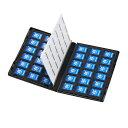 サンワサプライ DVDトールケース型メモリーカード管理ケース(SDカード用・両面収納タイプ) FC-MMC21SD(代引不可)