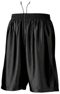 バスケパンツ P-8500 【130〜150サイズ】 ブラック【S1】
