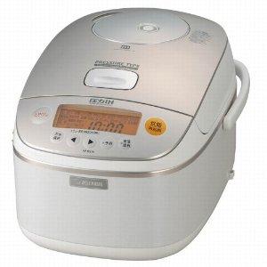 象印 ホワイト 極め炊き 圧力IH炊飯器(1升炊き) NP-BS18-WB 炊飯器 1升炊き