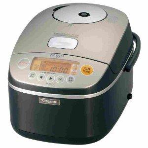 象印 メタリックブラウン 極め炊き 圧力IH炊飯器(1升炊き) NP-BA18-TC 炊飯器 1升炊き